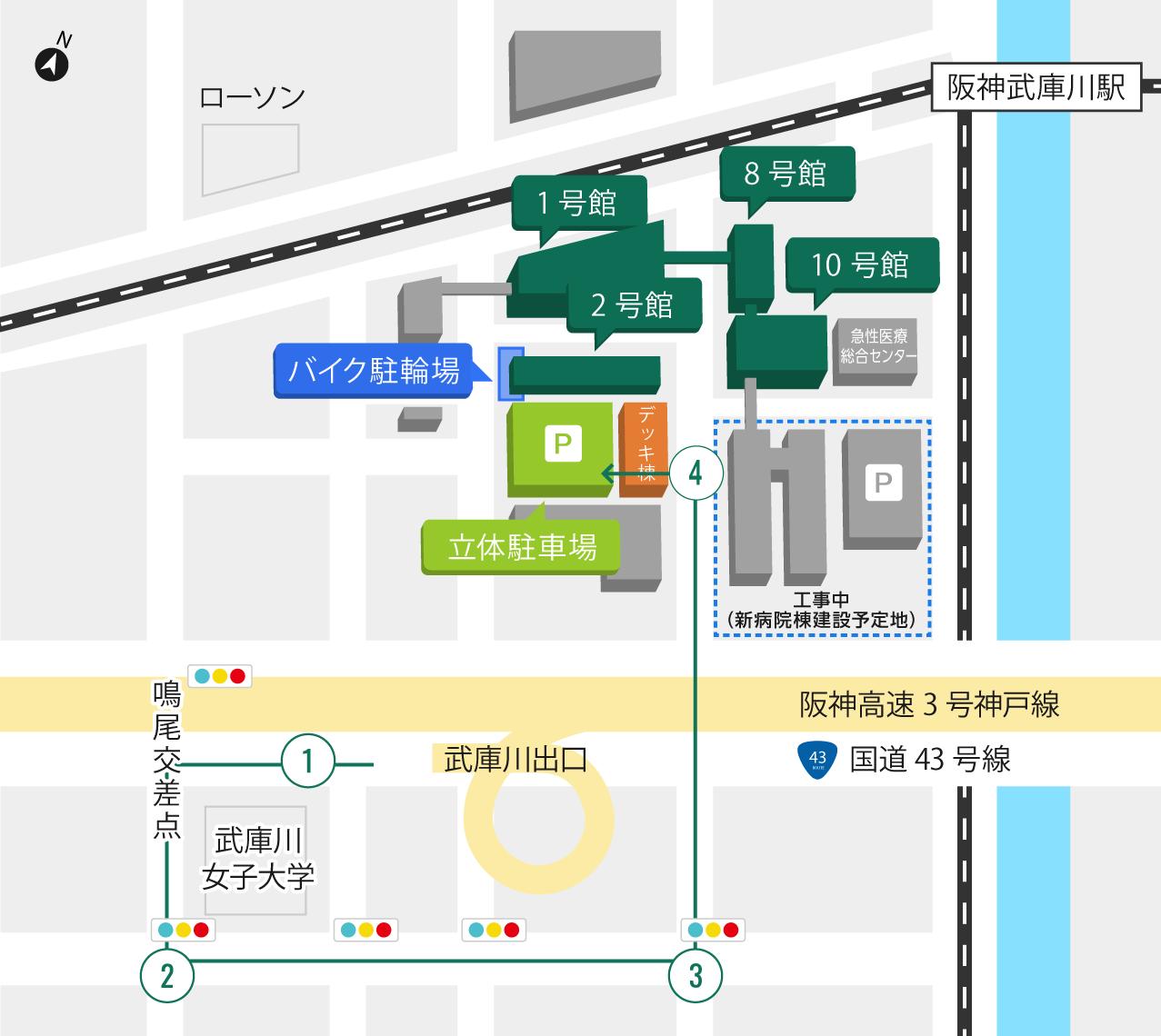 マップ 大阪 コロ